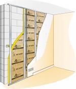isolation murs sur ossature metallique