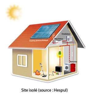 photovoltaique sites isoles