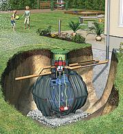 cuve enterrée usage extérieur