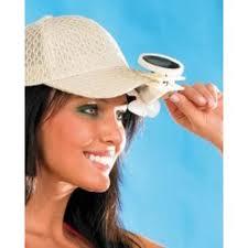 casquette solaire et ventilateur