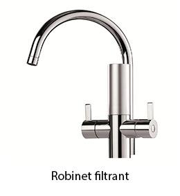 robinet filtrant