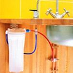 filtration sous évier