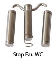stop eau wc