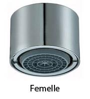 aérateur femelle