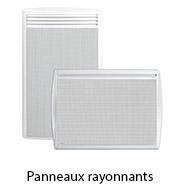 gamme panneaux rayonnants