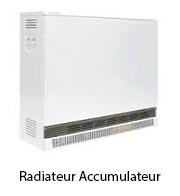 radiateur accumulateur
