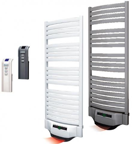 Radiateurs lectriques s che serviette eco energie solutions - Radiateur mixte salle de bain ...