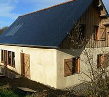 maison écologique mayenne