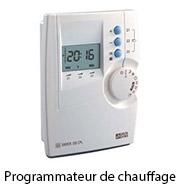 Programmateur De Chauffage Thermostat Programmable Délesteur