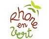 Logo Rhone en vert é